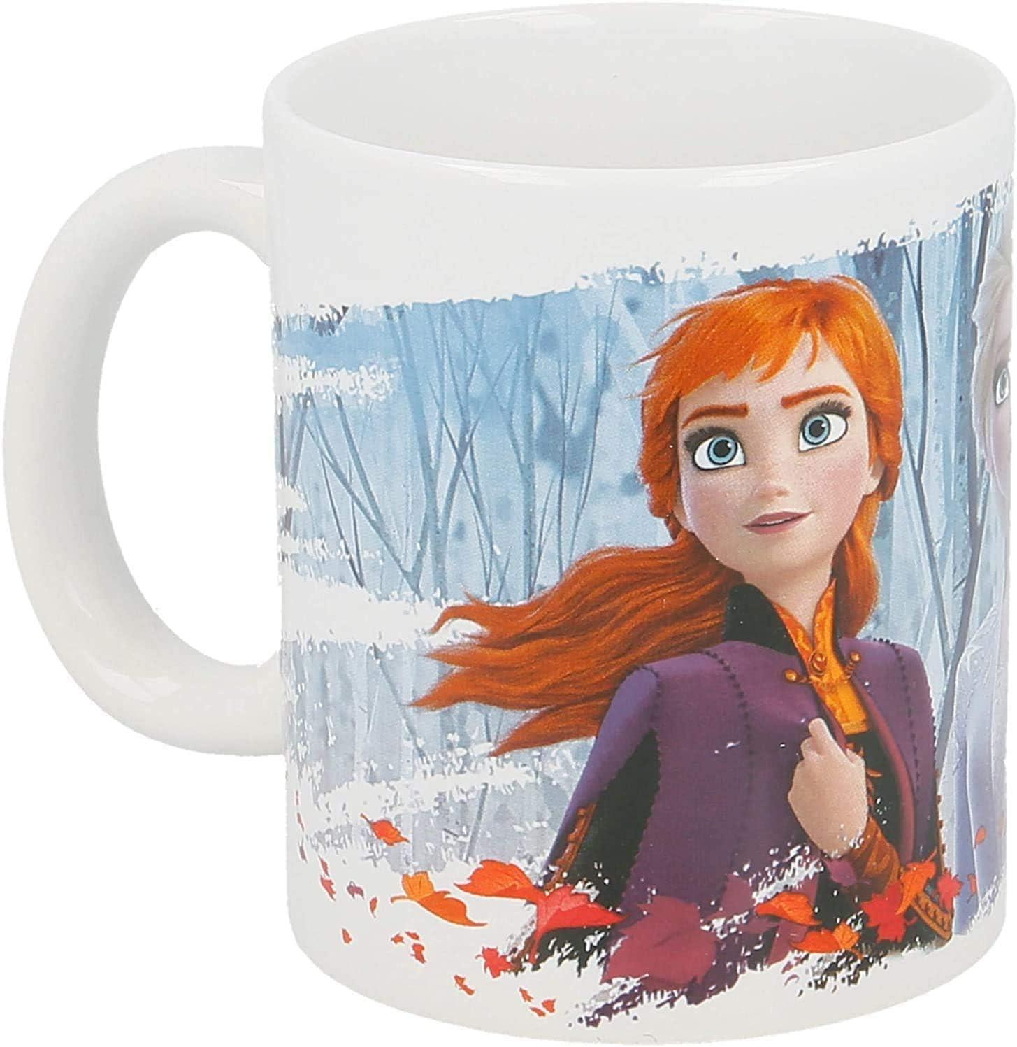 porcelana dise/ño de Olaf Frozen-Eisk/önigin Disney Taza