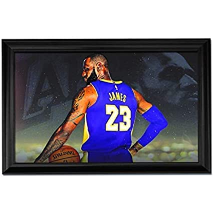 51082efdd72 Amazon.com  Kobe Bryant Wall Art Decor Framed Print