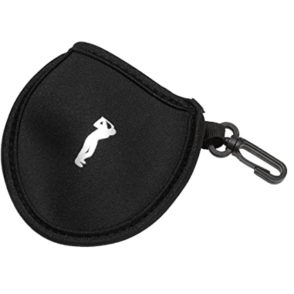 6e2f132900ee Baosity Golf Utility Pouch - Durable Neoprene Golf Ball Holder Pocket Tee  Divot Tool Accessory Bag