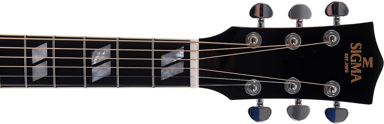 Sigma Guitars DA-SG7+ · Guitarra acústica: Amazon.es: Instrumentos ...