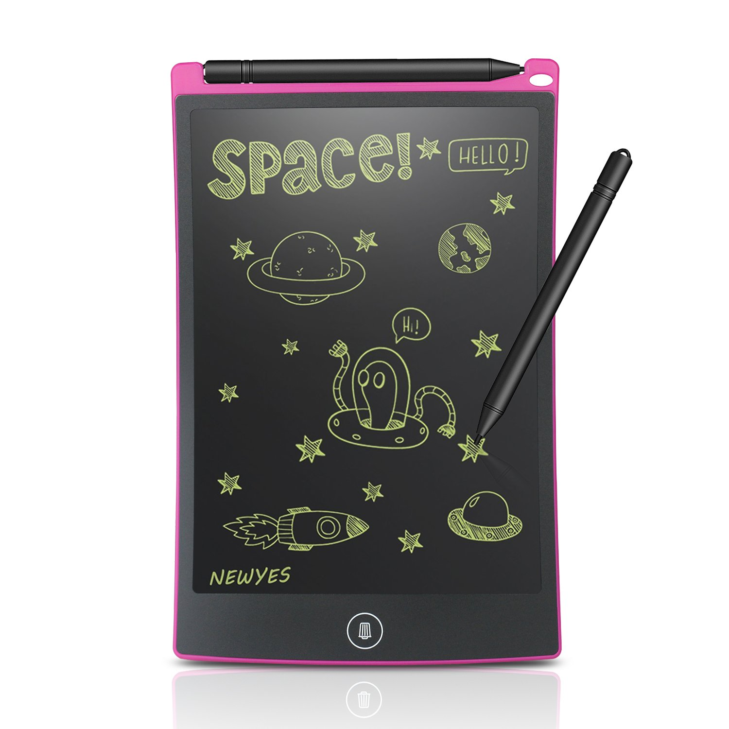 (Upgrade Version) Robot Pad 8.5 Inch LCD Writing Tablet with Brighter Writing and Lock to Prevent Accidental Deletion Office Klass Home Doodle Drawing Gifts for Kids and Adults Newyes