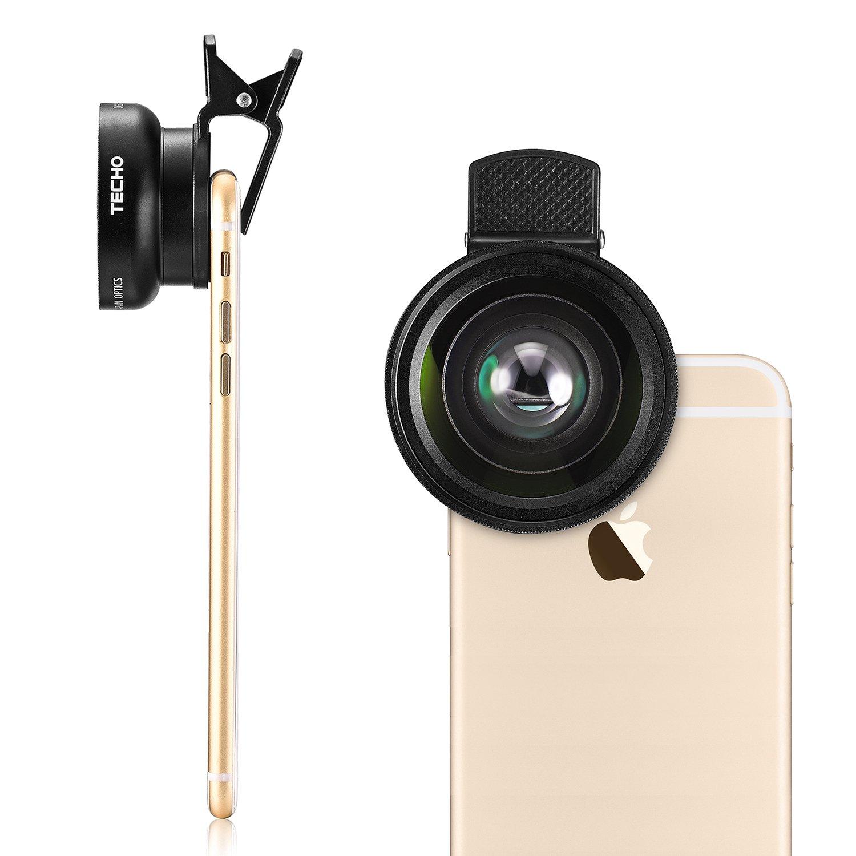Amazon.com : TECHO Universal Professional HD Camera Lens Kit for ...