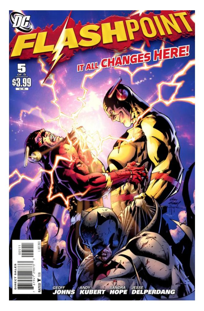 "Download Flashpoint #5 ""The War Between the Amazons and the Atlantians Has Arrived. The Battle Between Diana of Themyscira and Emperor Aquaman Will Tear This World Apart – Unless the Flash Can Fix It"" PDF"