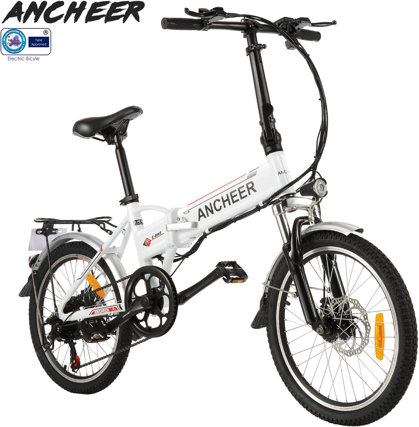 ANCHEER Folding Electric Bike Ebike