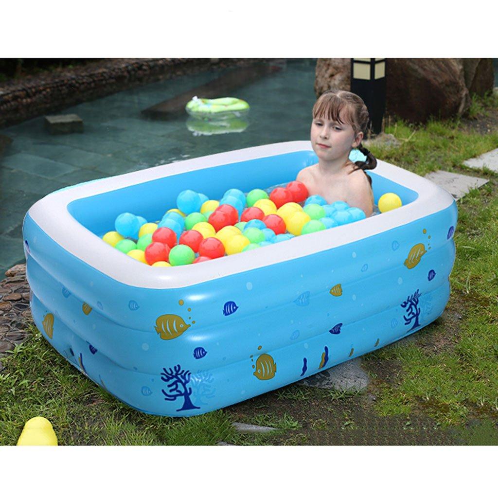 DT Piscina para Niños Bebé Parque acuático Hinchable Sobre ...