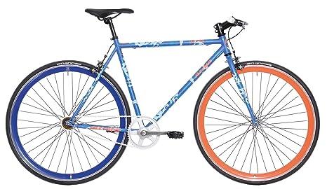 Atala 28 Pollici Uomo Single Speed Bici Queens Rl Blau Amazonit