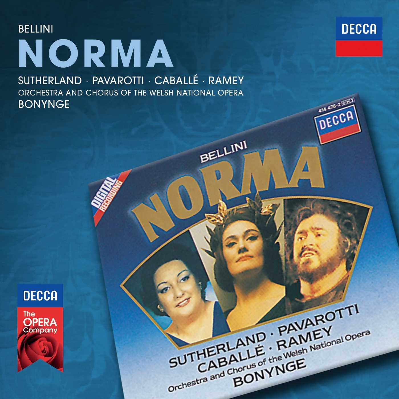 Bellini - Norma / Sutherland · Horne · J. Alexander · R. Cross · LSO · Bonynge