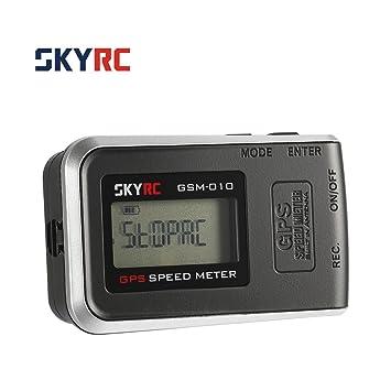 Laurelmartina SKYRC GSM-010 Altímetro Compacto de Alta precisión del velocímetro del GPS para el