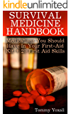 Survival Medicine Handbook: Medications You Should Have In Your First-Aid Kit + 20 First Aid Skills