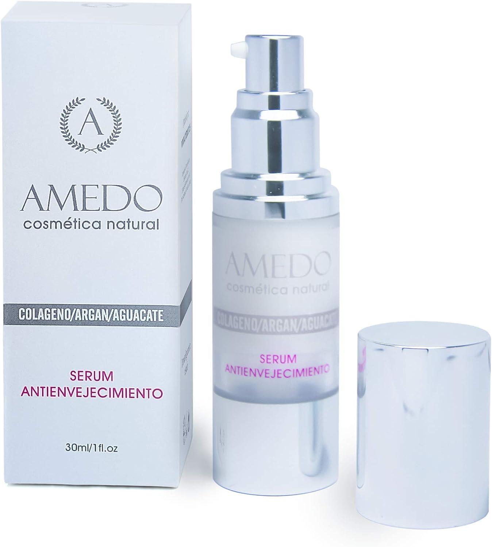 ALTAMENTE EFECTIVO - SERUM COLAGENO/ARGAN/AGUACATE - sérum hidratante, antienvejecimiento, para todo tipo de pieles. Dejará su piel más suave, firme y ...