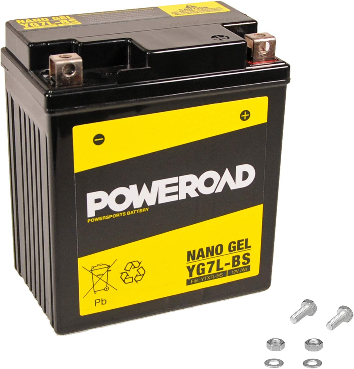 7,50/€ Pfand Gel-Batterie f/ür Honda CBF 600 //S PC38 inkl wartungsfrei startklar 2004-2007 einbaufertig