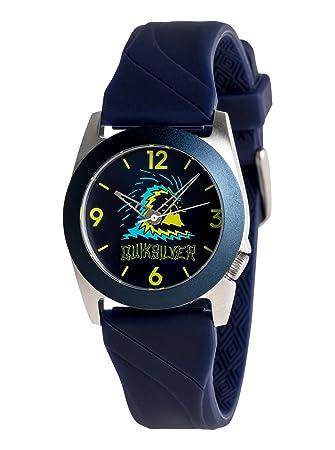 Quiksilver niños ficción – Analógico Reloj analógico reloj, Azul Marino