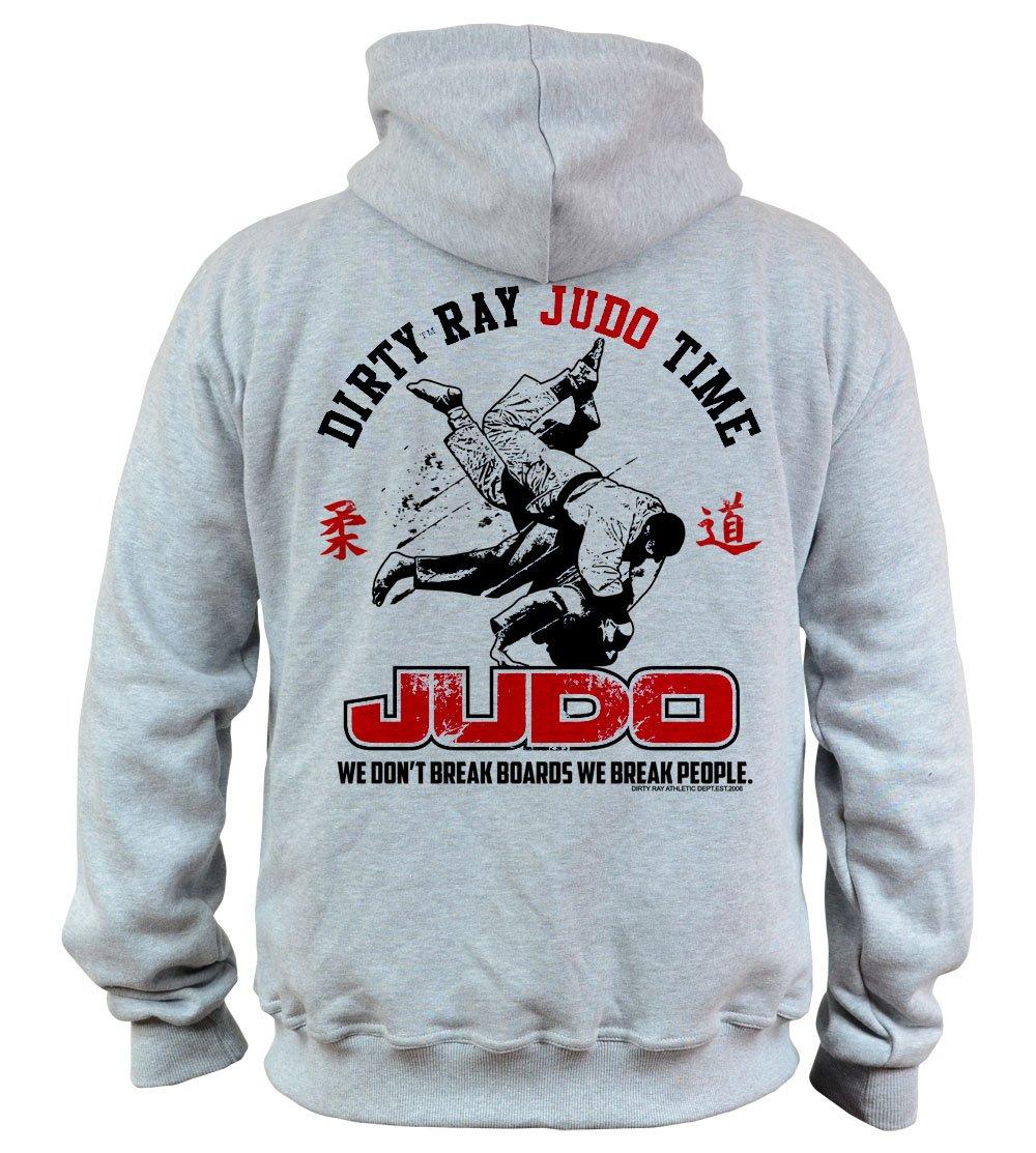 Dirty Ray Artes Marciales Judo Time sudadera hombre con capucha ...
