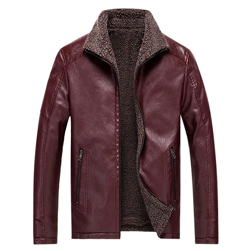Men's Sword Black Genuine Lambskin Leather Biker Jacket by F_Gotal Mens blazer