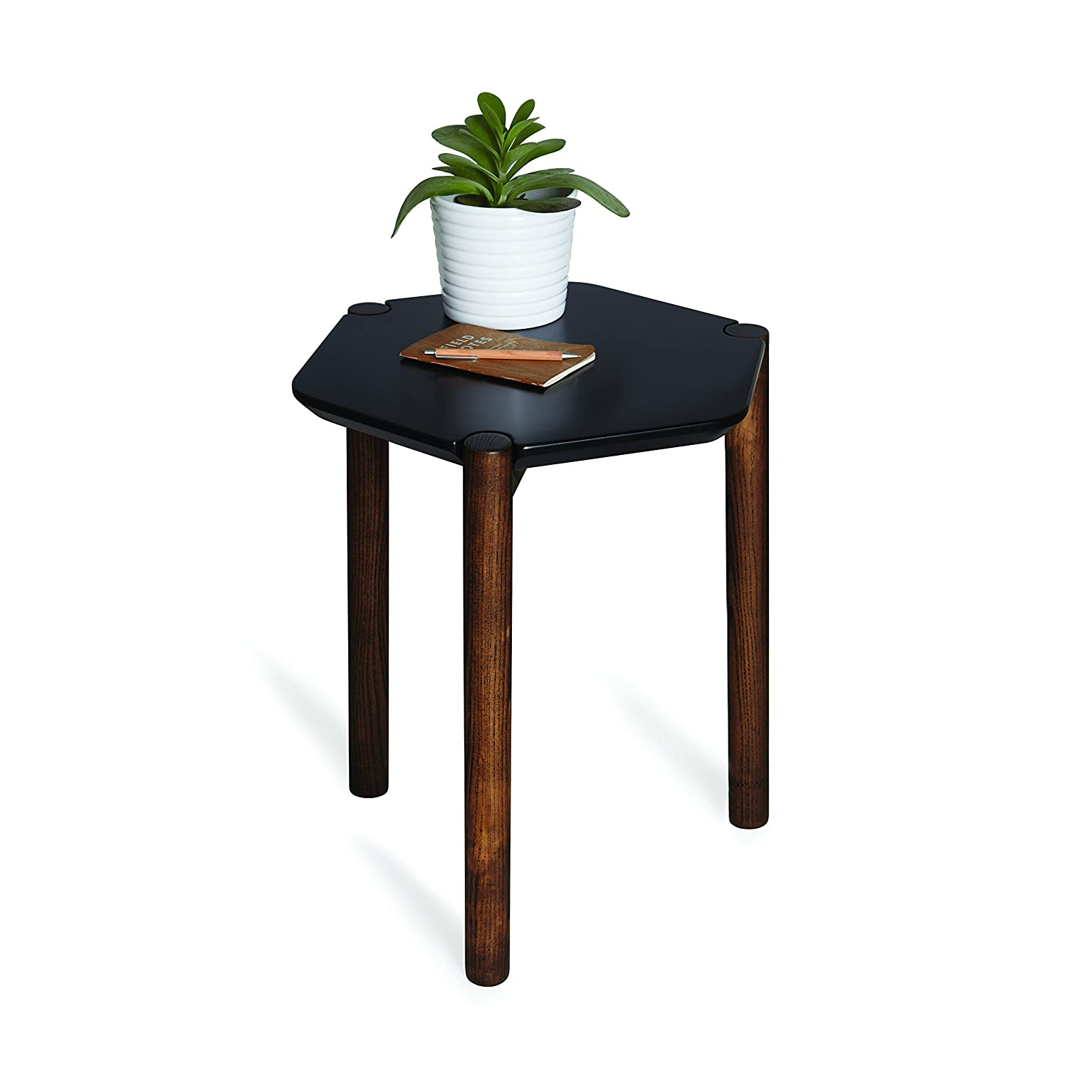 Copper//Black Metal 16.5 x 16.5 x 27.5 Inches Sagebrook Home 11025 Metal Accent Table