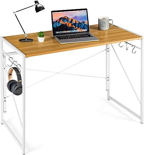 Cheap Tangkula Folding Computer Desk home office desk for sale