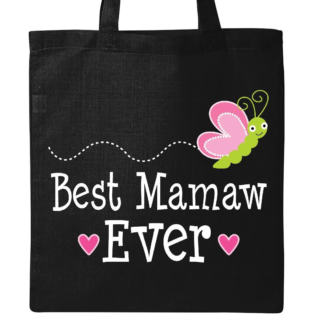 Inktastic Best Mamaw Everおばあちゃんギフトトートバッグ One Size ブラック B01MUYI98L ブラック