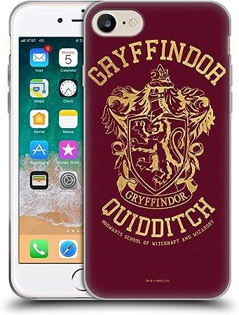 Head Case Designs Offiziell Zugelassen Harry Potter Gryffindor Quidditch Deathly Hallows X Soft Gel Handyhülle Hülle Huelle Kompatibel Mit Apple Iphone 7 Iphone 8 Iphone Se 2020 Elektronik