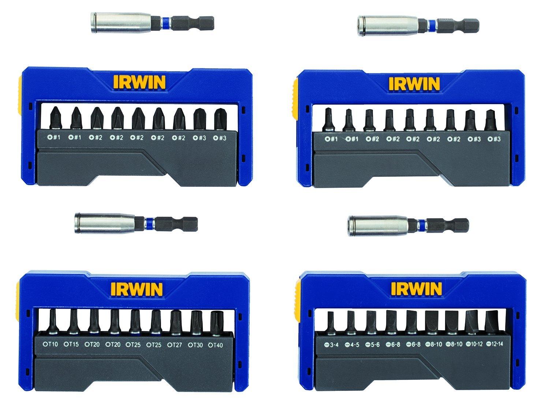 IRWIN Set de puntas de inserción Largo de 1 pulgada Set d...