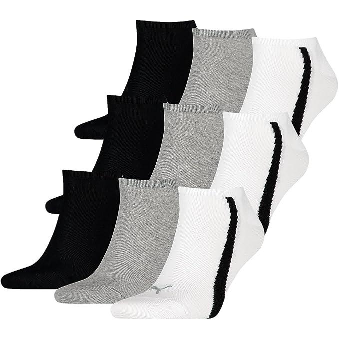 Puma - Calcetines cortos - Básico - para hombre white / grey / black (325