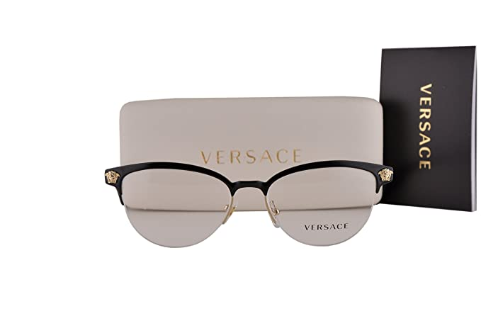 5f6e08b44ce2 Image Unavailable. Image not available for. Colour: Versace VE1235  Eyeglasses ...