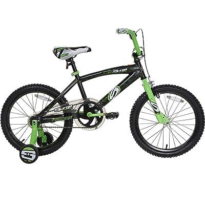 "Next 18"" Surge Boys' BMX Bike, Black/Green : Sports & Outdoors"