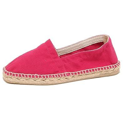 brand new 2a4e1 55d2a 3446P Scarpa Donna CASTANER PABLITA Fuxia Espadrillas Shoe ...
