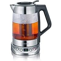 Severin WK 3479cam çay ve su ısıtıcısı Deluxe (3000Watt, 1,7litre) paslanmaz çelik