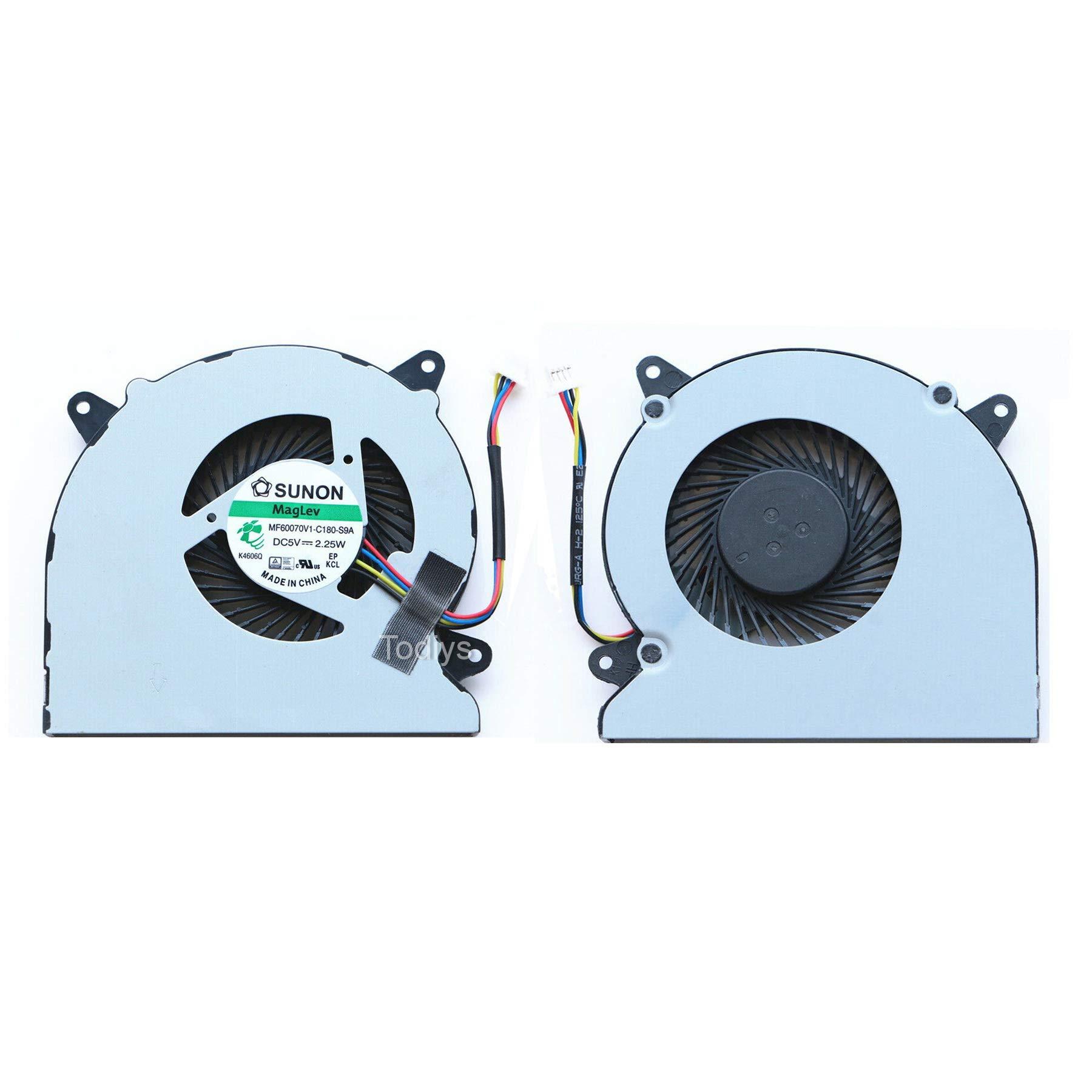 CPU Cooling Fan para Asus N550 N550J N550JA N550JV N550JK...