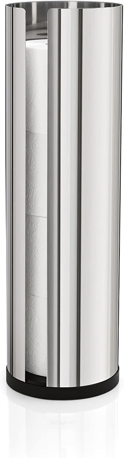 Blomus 66658 Polished Stainless Steel Spare Toilet Paper Roll Holder