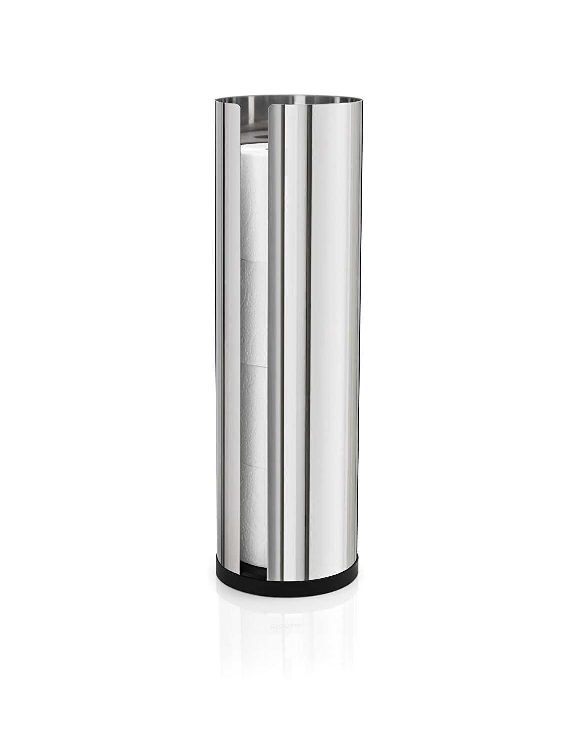 Amazon.com: Blomus 66658 Polished Stainless Steel Spare Toilet ...
