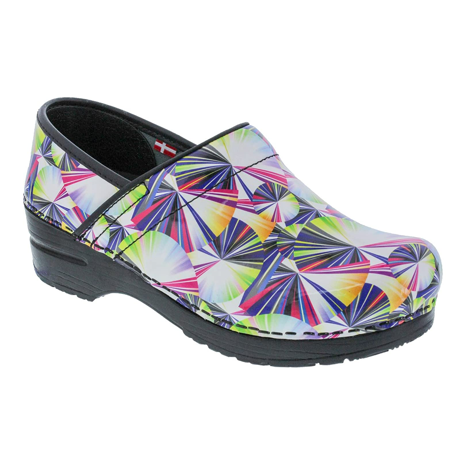 Sanita Women's Original Pro. Geo Clog 459156 Multi - 1