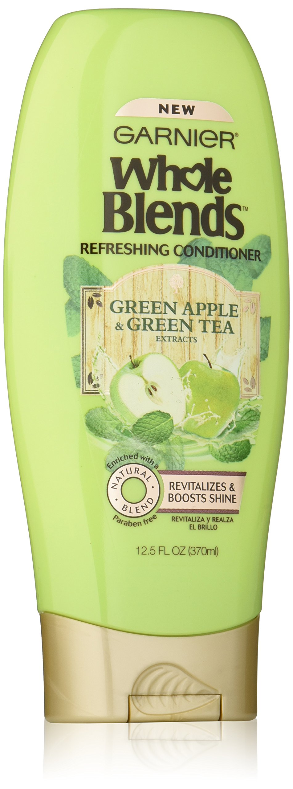 Garnier Whole Blends Conditioner with Green Apple & Green Tea Extracts, 12.5 fl. oz.