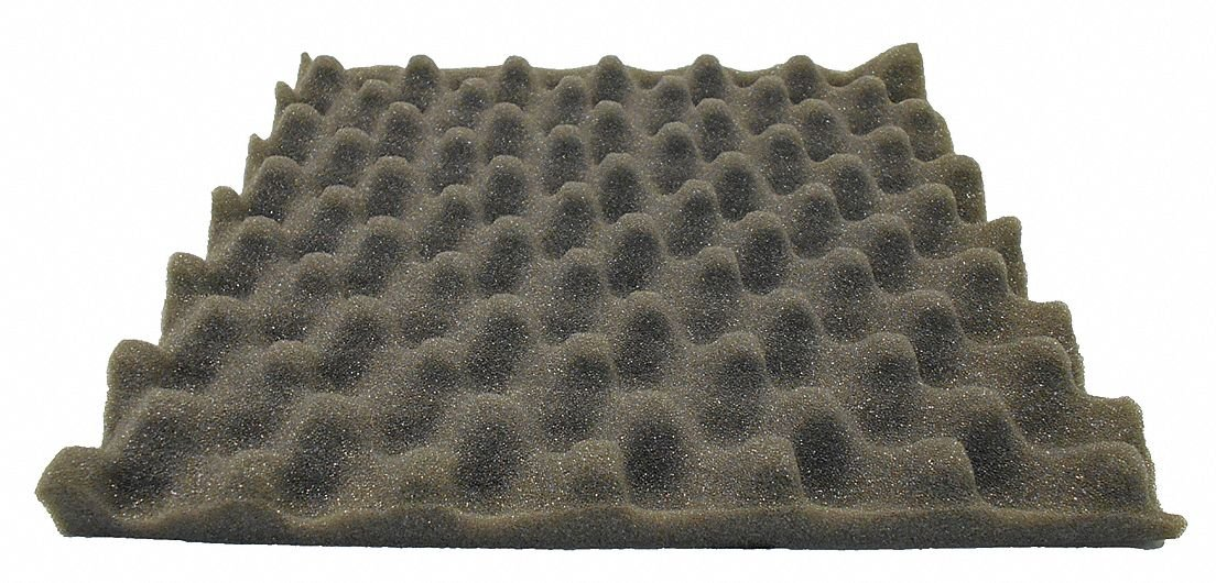 Acoustic Foam,54 in. W,PK4