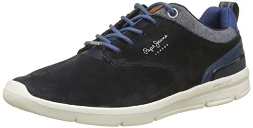 Pepe Jeans London Jayden 2.1 Essentials, Zapatillas para Hombre, Gris (Grey), 44 EU