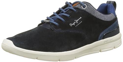 Pepe Jeans London Jayden 2.1 Essentials, Zapatillas Hombre, Gris (Grey), 45 EU