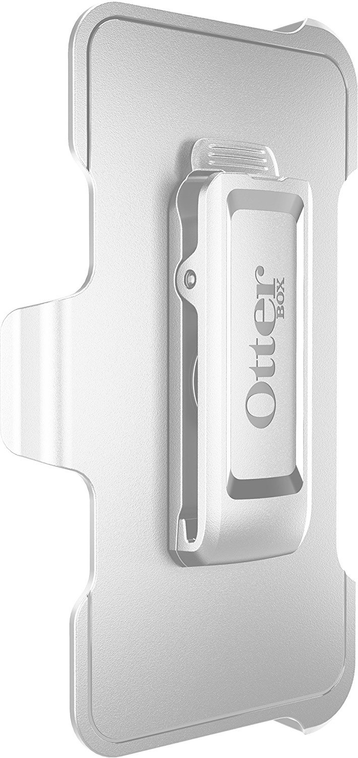 OtterBox Defender Series Compatible with Apple iPhone 6/6s -, Retail Packaging + Belt Clip Holster - Ap Pink (White/Gunmetal Grey Ap Pink) (4.7 inch)