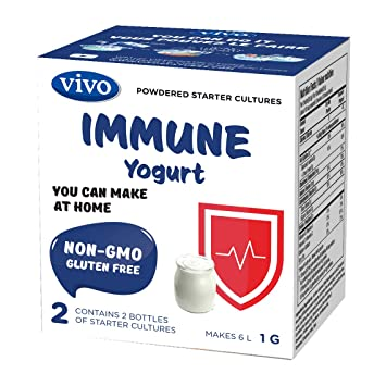 Amazon.com: VIVO Immune Yogurt Starter/Natural (5 cajas). 10 ...
