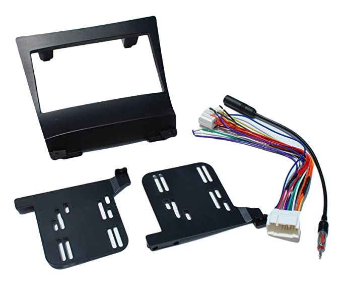 Aftermarket Radio Install Complete Double Din Dash Kit Fits Acura TSX on