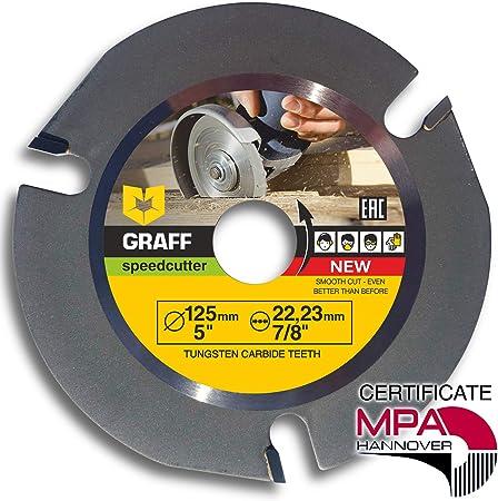 COUPE SCULPTURE Disc 125 Mm 3 T Lame de scie circulaire Meuleuse D/'Angle Disque wood cutter