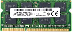 Micron 8GB PC3-12800 DDR3-1600 1600MHz Laptop Memory RAM MT16KTF1G64HZ-1G6E1