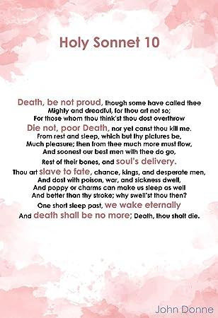holy sonnet 9