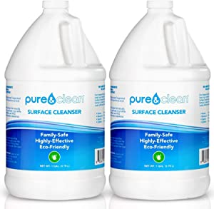 Pure & Clean Everyday Multi Surface Cleaner - Hypochlorous Acid Cleaning Solution - Powerful & Non-Toxic - for Use On Most Any Surface - Electrolyzed Water & HOCl Formula (2-Pack)