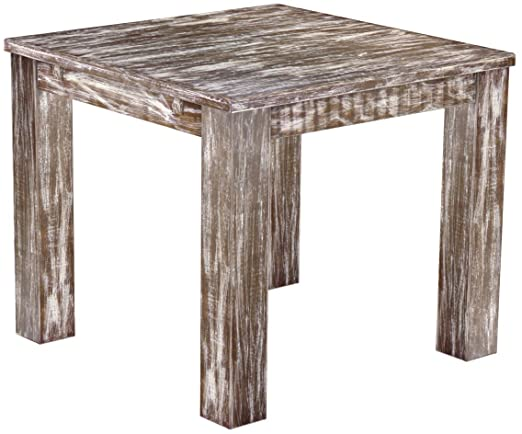 Brasil Muebles Mesa de Comedor Rio clásico 90 x 90 cm, de Madera ...