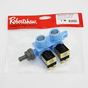 Direct OEM Replacement For 8181694 Washing Machine Water Inlet Valve