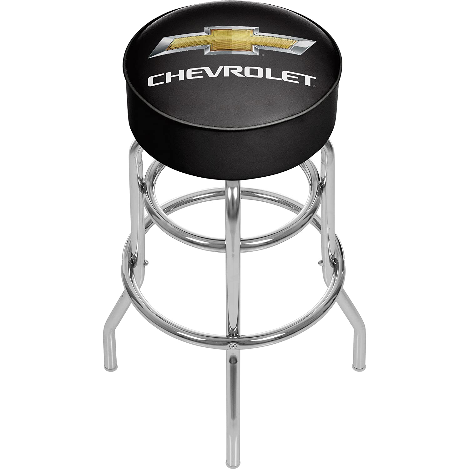 Trademark Global Chevy Padded Bar Stool GM1000CH