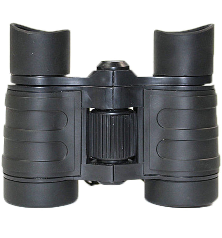 Jokhooおもちゃ双眼鏡、ゴム製4 x 30 mm調整可能小型軽量双眼鏡キッズ用、コンパクト双眼鏡for Childrensキャンプアウトドア望遠鏡、おもちゃ、子供教育ギフト B075YN6CF4 ブラック ブラック