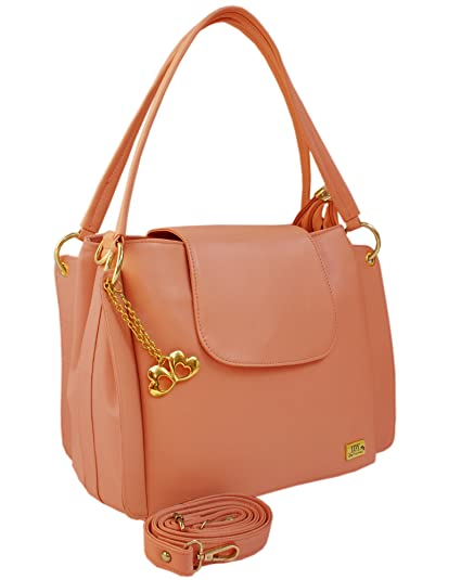 a558e957f674 I DEFINE YOU Latest Peach Color Party Wear Handbag   Sling bag For Girls  and Women s