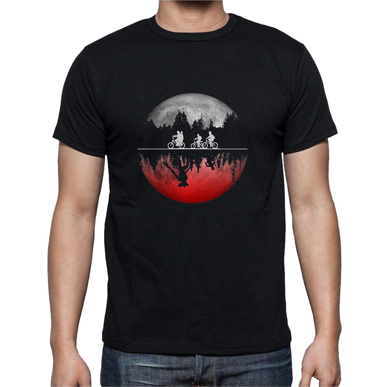 Camiseta de Hombre Stranger Things Eleven 11 El Otro Lado