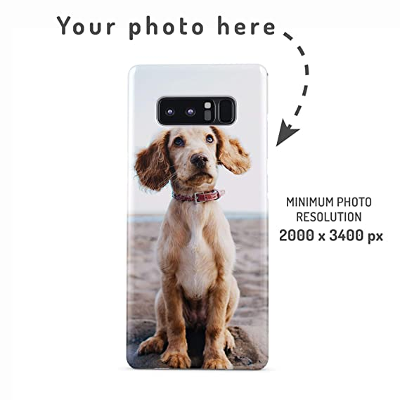 282fcc19 Amazon.com: Personalised Custom Photo Create Your Own Image Phone Case  Design Make Your Own Print Protective Hard Plastic Case Cover for Samsung  Galaxy S8: ...